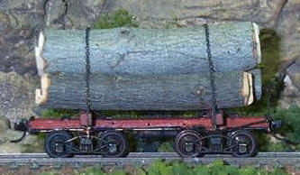 log car kit for HO scale trains