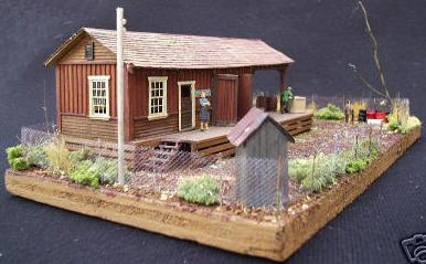 Chain Link Fence for Model Railroads