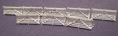 Snow Fence Kit for mode railroads